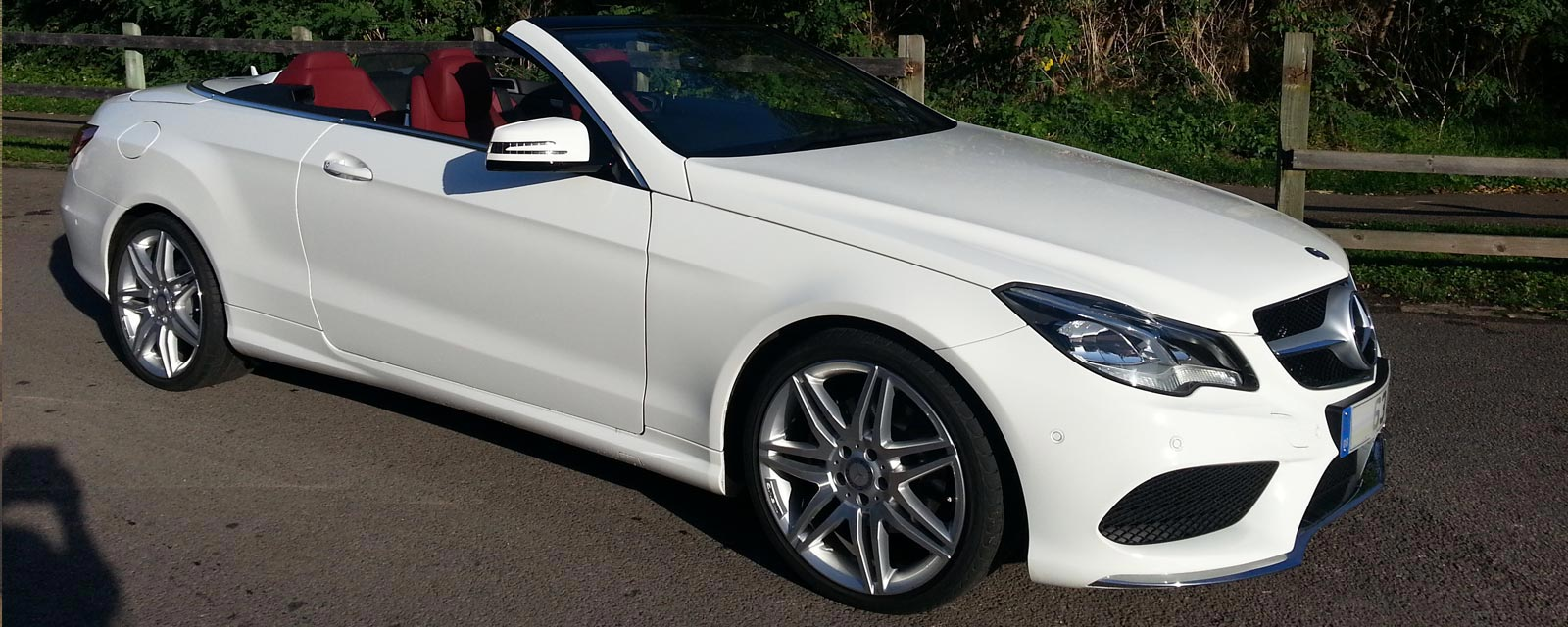 Hire mercedes benz e350 convertible for your wedding for Mercedes benz e350 coupe convertible